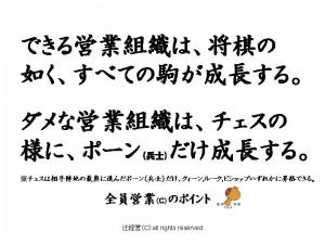 141125「将棋」と「チェス」の営業組織